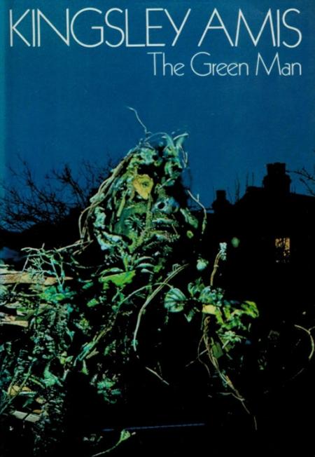 Hardcover, Jonathan Cape 1975. Det sært stemningsfulde omslag er lavet af Colin Andrews