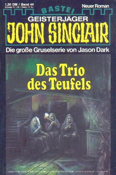 Hæfte, John Sinclair nr. 44 1988