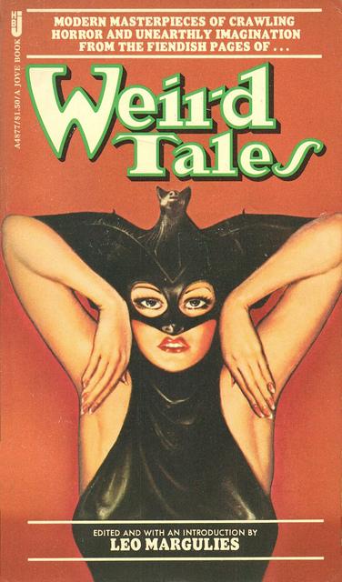 Paperback, Jove Books 1979. Antologiens 2. ufd. Nu med en af Margaret Brundages ikoniske forsider fra Weird Tales Magazine