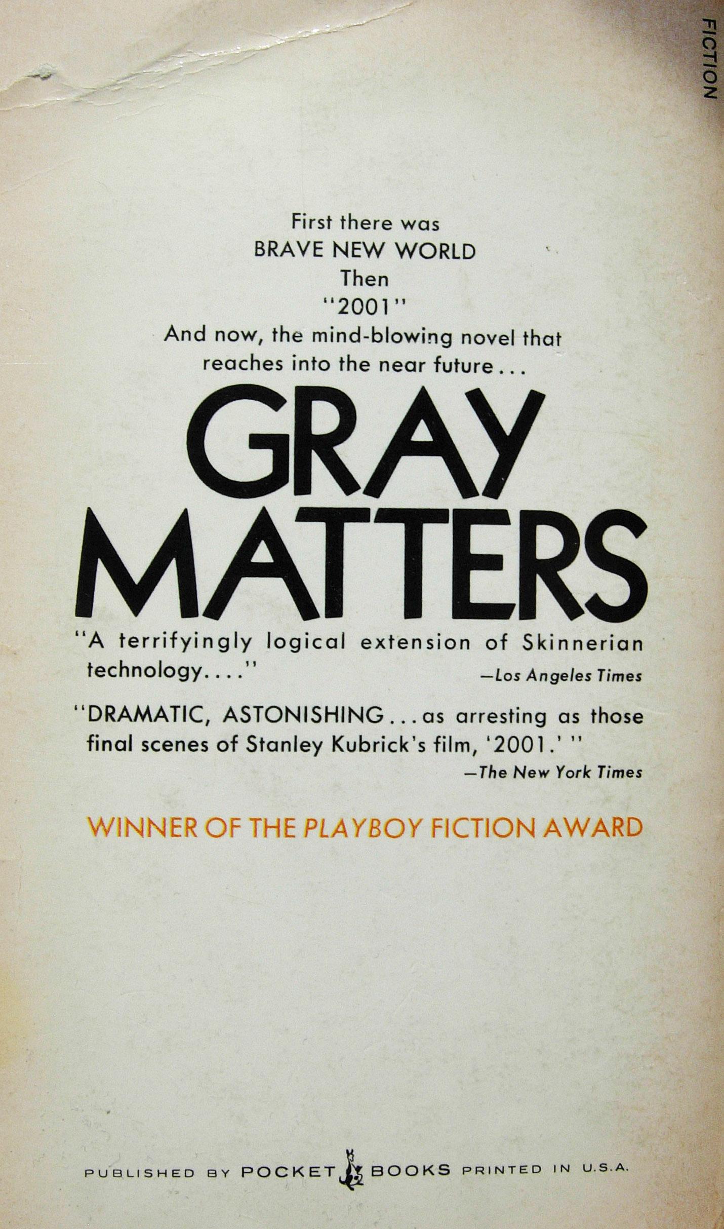 Paperback, Pocket Books 1972