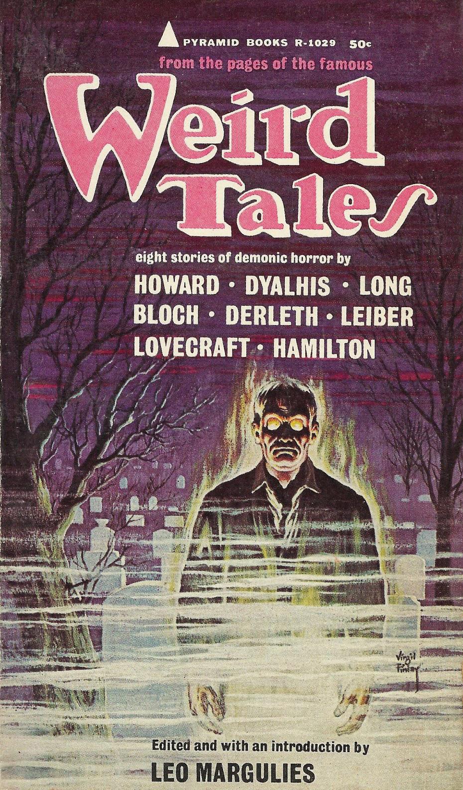 Paperback, Pyramid Books 1964. Forsiden er malet af den store mester Virgil Finlay