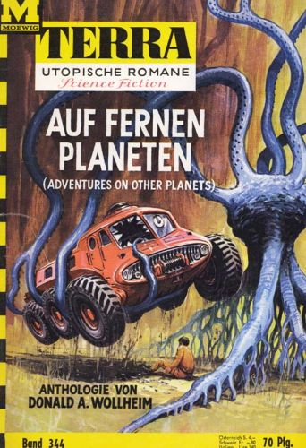 Paperback, Terra Utopische Romane nr 344 1966
