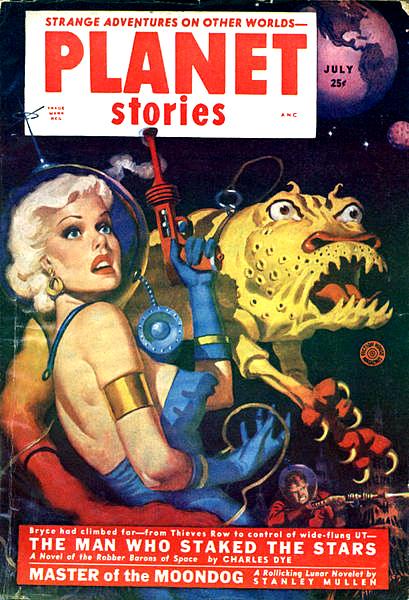 Planet Stories, juli 1952