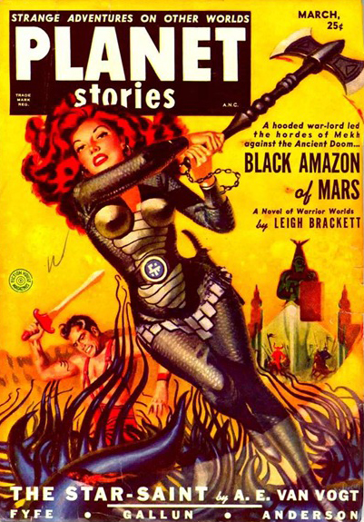 Planet Stories, marts 1951