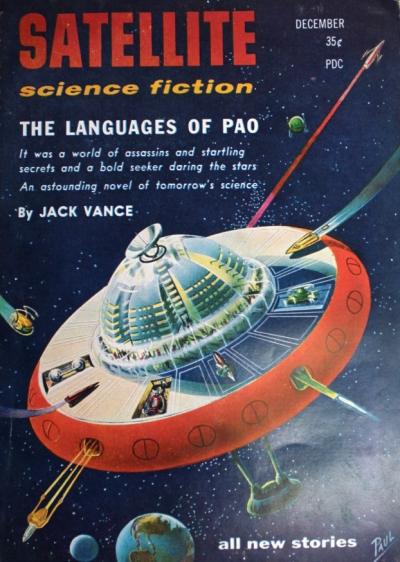 Satellite Science Fiction, december 1957. Magasinet hvor den oprindelige, kortere version af romanen blev trykt