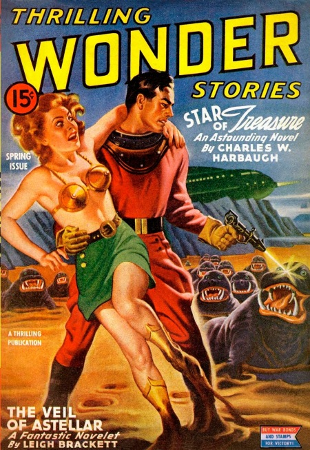 Thrilling Wonder Stories, forår 1944