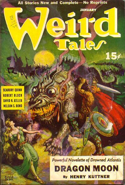 Weird Tales, januar 1941