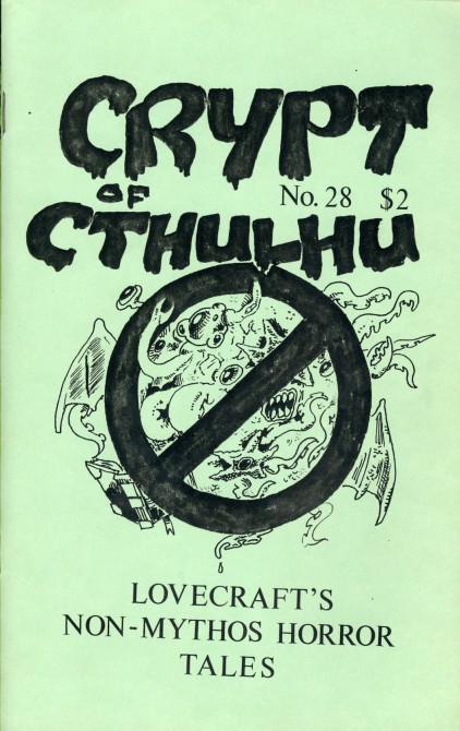 Crypt of Cthulhu, nr. 28 1984