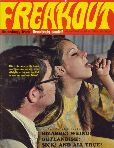 Freakout Magazine, vol. 1 nr. 1 1967
