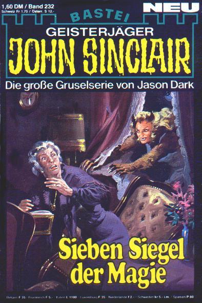 Hæfte, John Sinclair nr. 232 1982