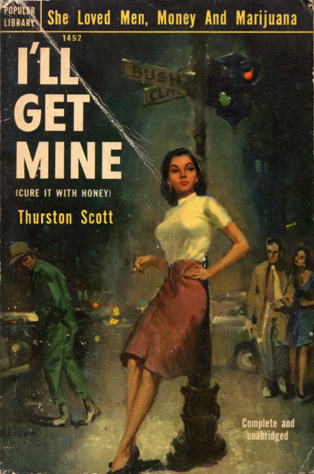 Paperback, Popular Library 1952
