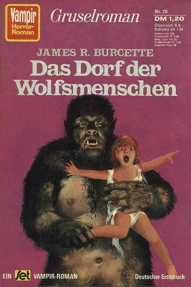 Vampir-Horror-Roman nr. 78, 1974