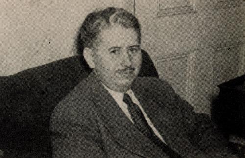 Frank Belknap Long fotograferet på et tidspunkt i slutningen 1940'erne