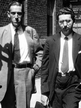 H. P. Lovecraft (20. august 1890 – 15. marts 1937) og Frank Belknap Long i New York 1931