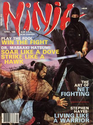 Ninja Magazine, april 1986