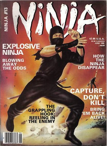 Ninja Magazine, juni 1986