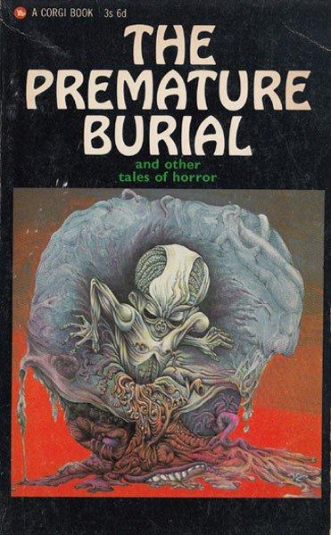 Paperback, Corgi Books 1966. Det groteske foster burde være et helt selvstændigt lille særtema