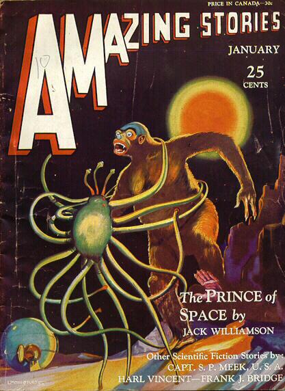 Amazing Stories, januar 1931