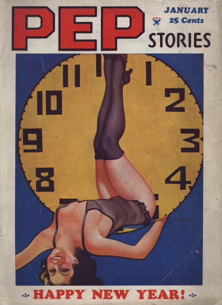 PEP Stories, januar 1935