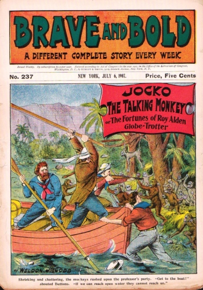 Brave and Bold nr. 237, juli 1907