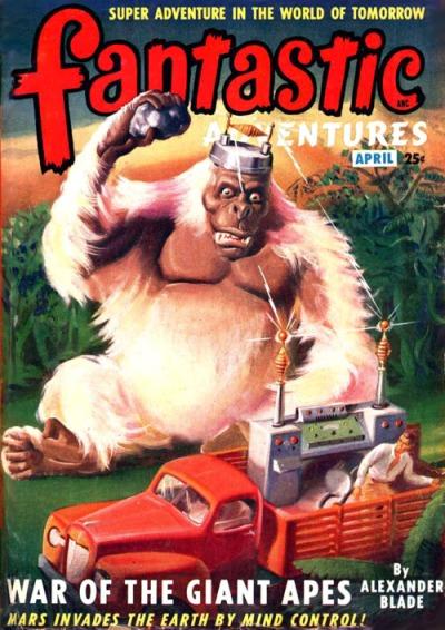 Fantastic Adventures, april 1949