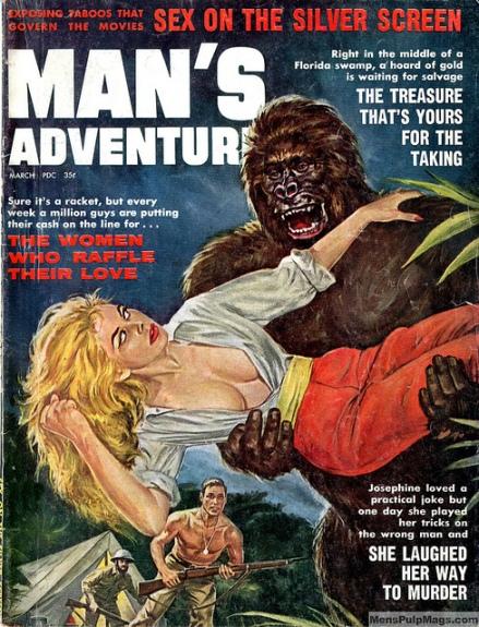 Man's Adventure, marts 1955