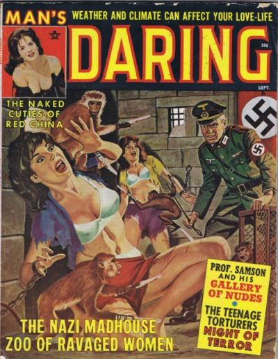 Man's Daring, august 1962