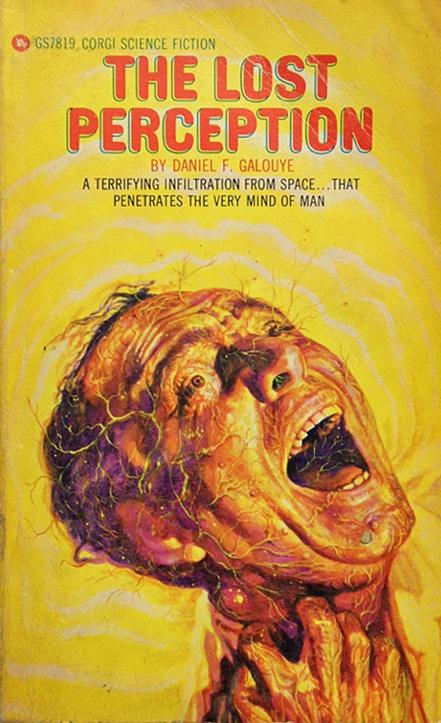 Paperback, Corgi Books 1968. Den første og eneste  engelske paperback-udgave. Også med en ganske cool forside