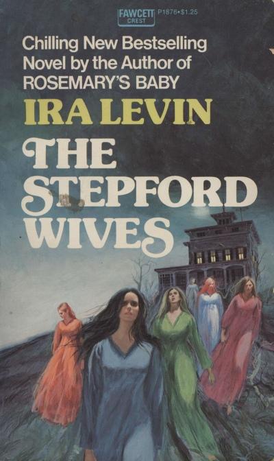 Paperback, Fawcett Crest 1973. Her har bogens handling fået en herlig gotisk fortolkning. Jeg elsker Fawcetts tidlige 70'er-forsider!