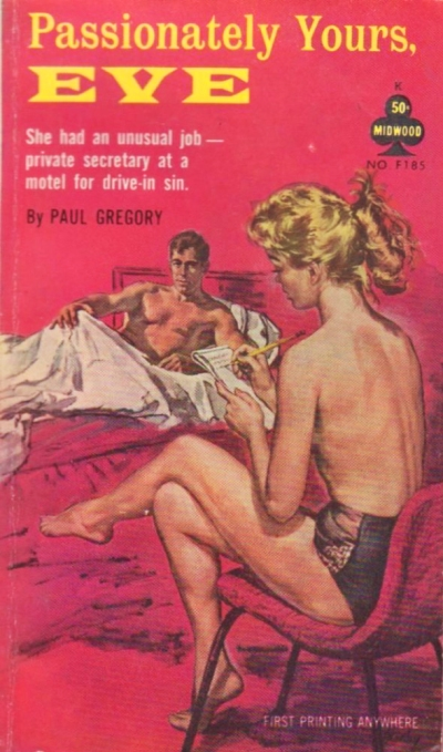 Paperback, Midwood Books 1962