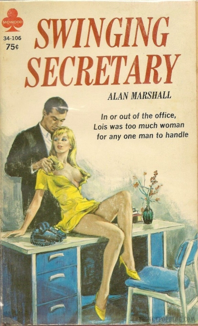 Paperback, Midwood Books 1968