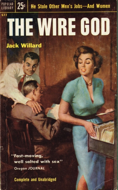 Paperback, Popular Library 1954