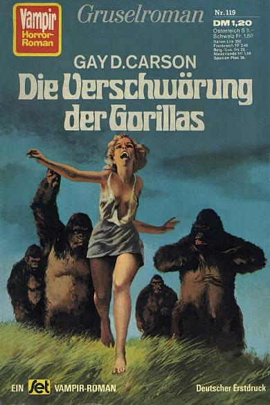 Paperback, Vampir Horror-Roman 1976