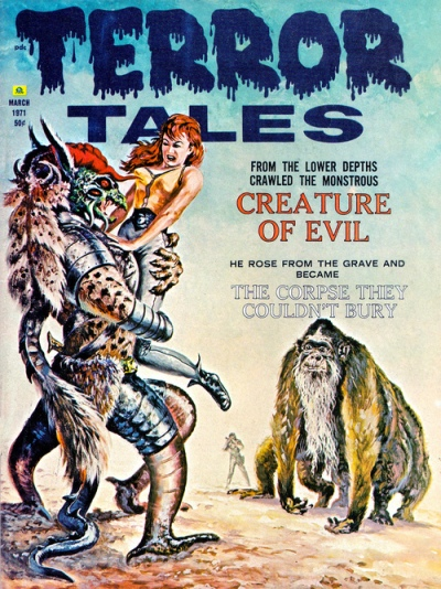 Terror Tales, marts 1971