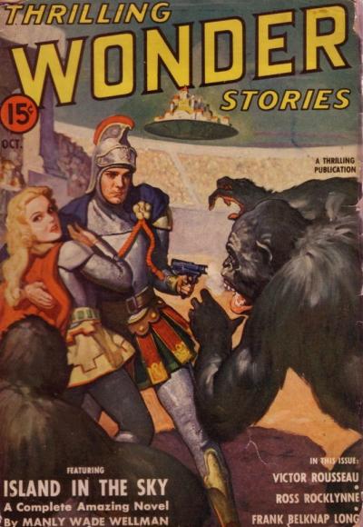 Thrilling Wonder Stories, oktober 1941