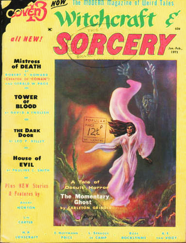 Witchcraft & Sorcery, nr. 5 januar/februar 1971