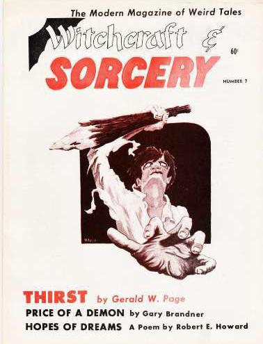 Witchcraft & Sorcery, nr. 7 forår 1972