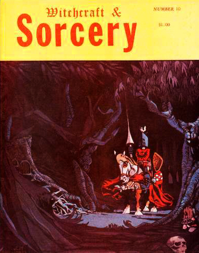 Witchcraft & Sorcery, nr. 10 forår 1974