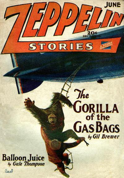 Zeppelin Stories, juni 1929