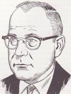 Gardner Francis Cooper Fox (20. maj 1911–24. december 1986). Her portrætteret af Gil Kane