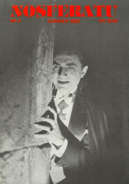 Nosferatu nr. 4, sommer 1982