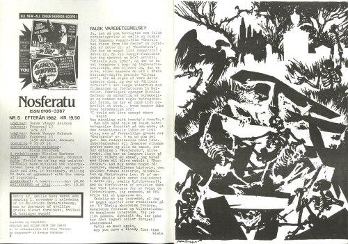 Nosferatu nr. 5, efterår 1982. Leder, s. 2
