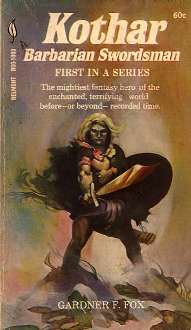Paperback, Belmont Books 1969. Forsiden er malet af den ikoniske Jeff Catherine Jones