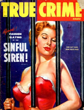 True Crime Cases Magazine, juli 1949