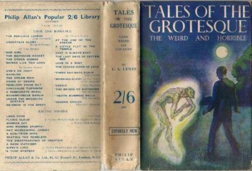 Hardcover, Philip Allan 1934