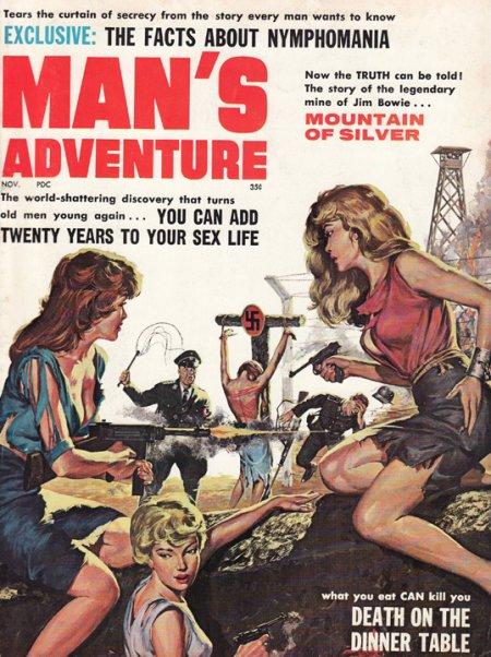 Man's Adventure, november 1961