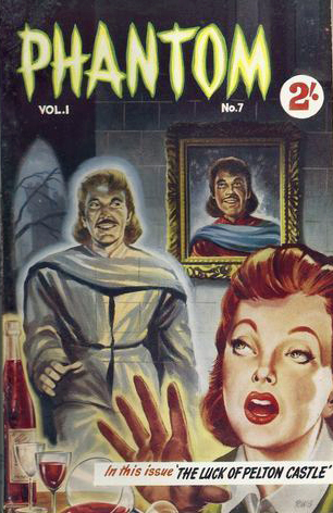 Phantom Magazine, oktober 1957