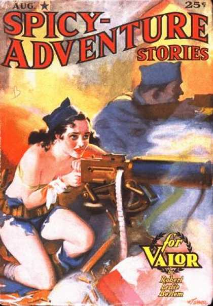 Spicy Adventure Stories, august 1937