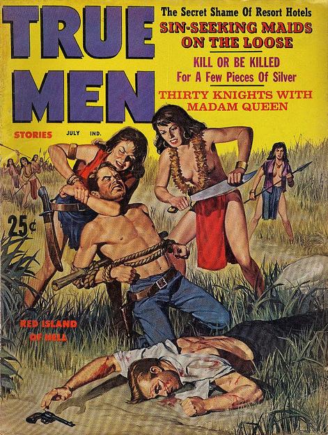 True Men Stories, juli 1961
