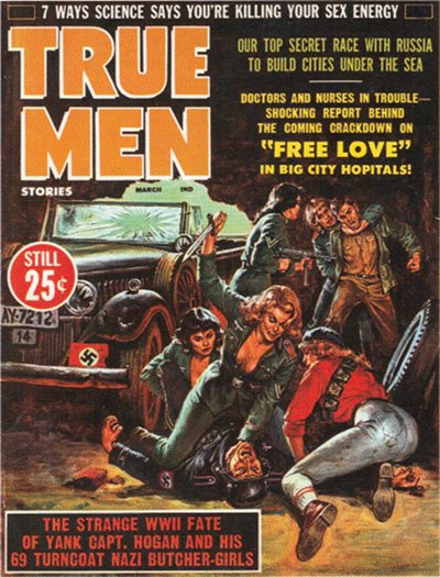 True Men Stories, marts 1958